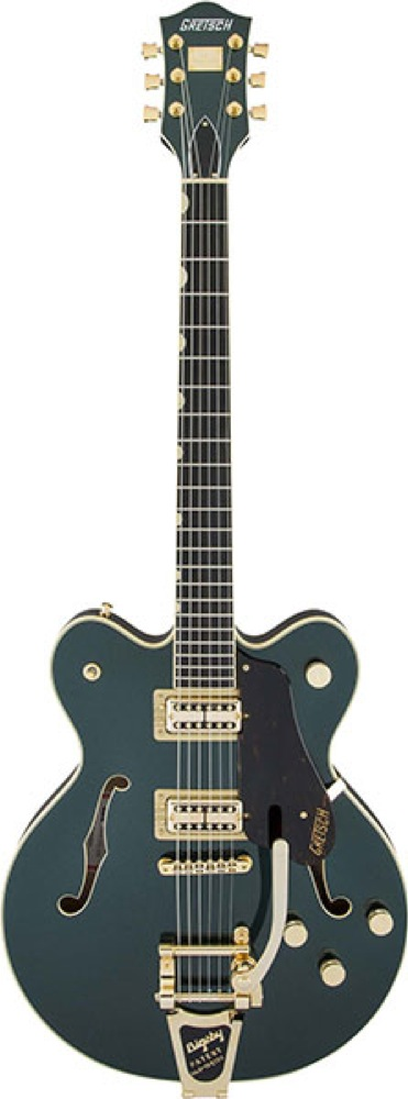 GRETSCH G6609TG Players Edition Broadkaster Center Block Double-Cut Cadillac Green Metallic エレキギター