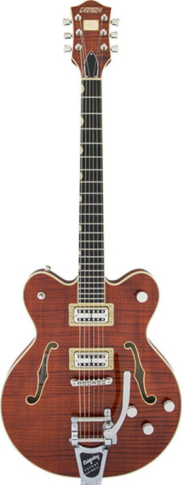 GRETSCH G6609TFM Players Edition Broadkaster Center Block Double-Cut Bourbon Stain エレキギター