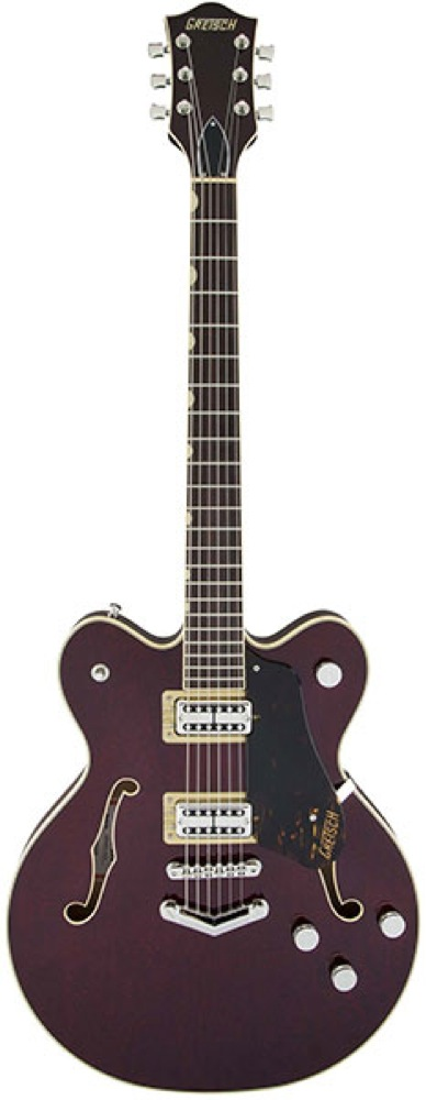GRETSCH G6609 Players Edition Broadkaster Center Block Double-Cut Dark Cherry Stain エレキギター