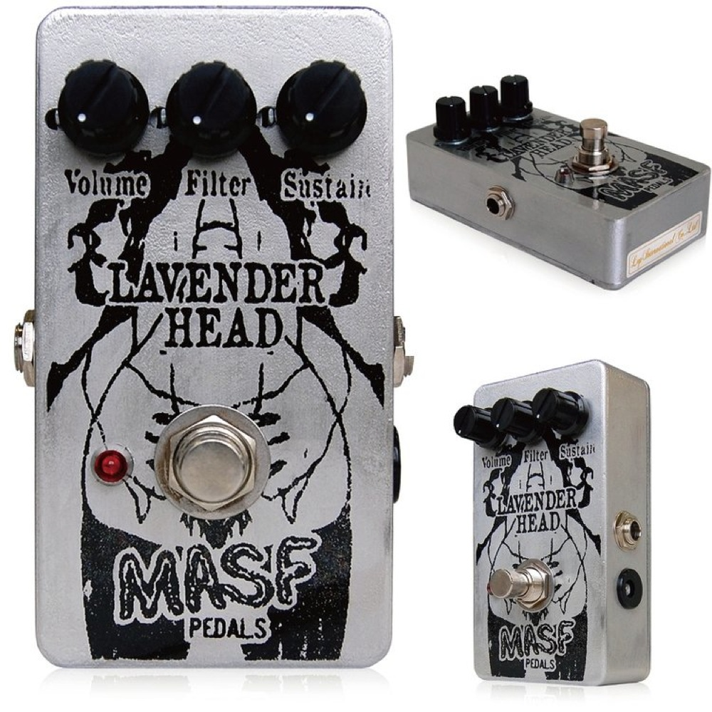 MASF Pedals Lavender Head ファズ エフェクター