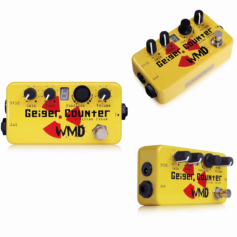 WMD Geiger Counter Civilian Issue エフェクター