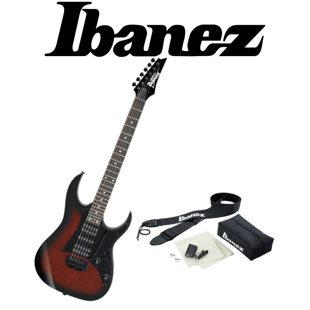 IBANEZ GRG150B WNS アクセサリーセット付き エレキギター