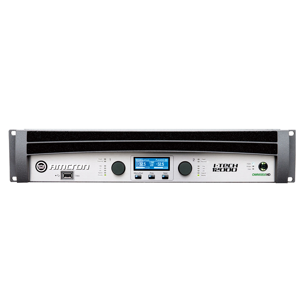 AMCRON IT12000HD パワーアンプ