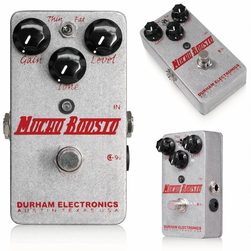 Durham Electronics Mucho Boosto オーバードライブ エフェクター