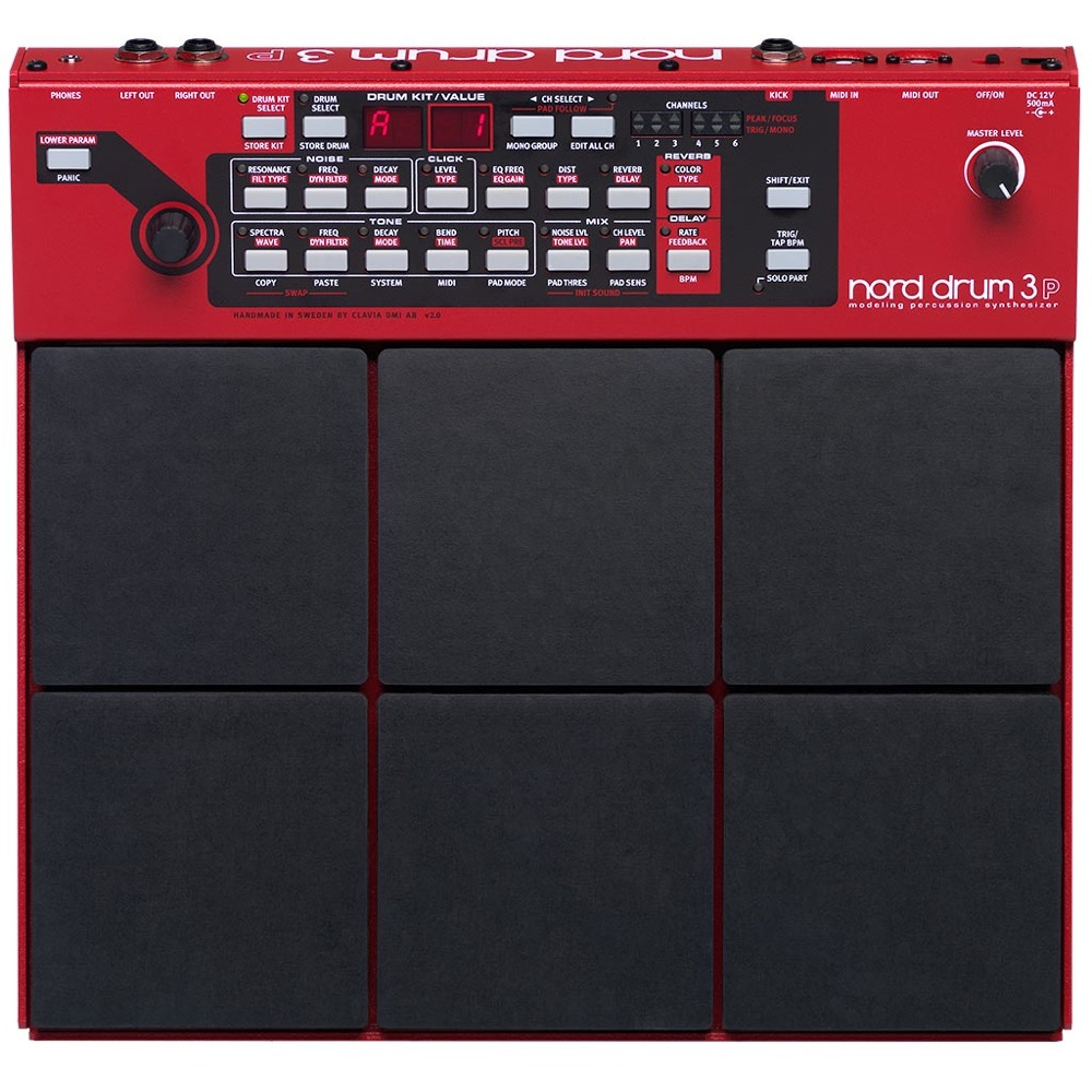 CLAVIA Nord Drum 3P モデリング パーカッション シンセサイザー