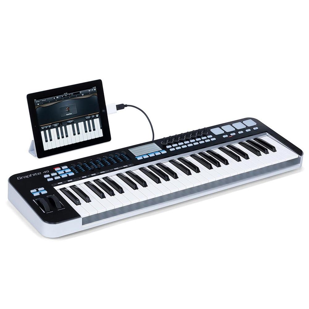SAMSON Graphite 49 ESAKGR49 USB 49鍵 MIDI キーボード コントローラー