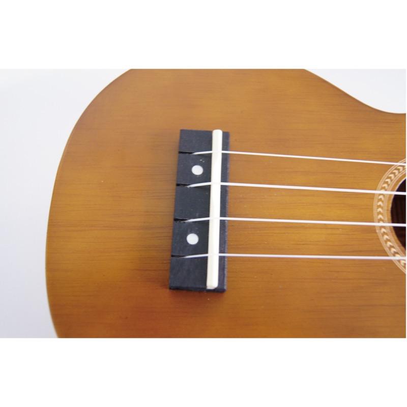 With MAHALO MR1 TBR-PK soprano ukulele teaching rule video downloading card