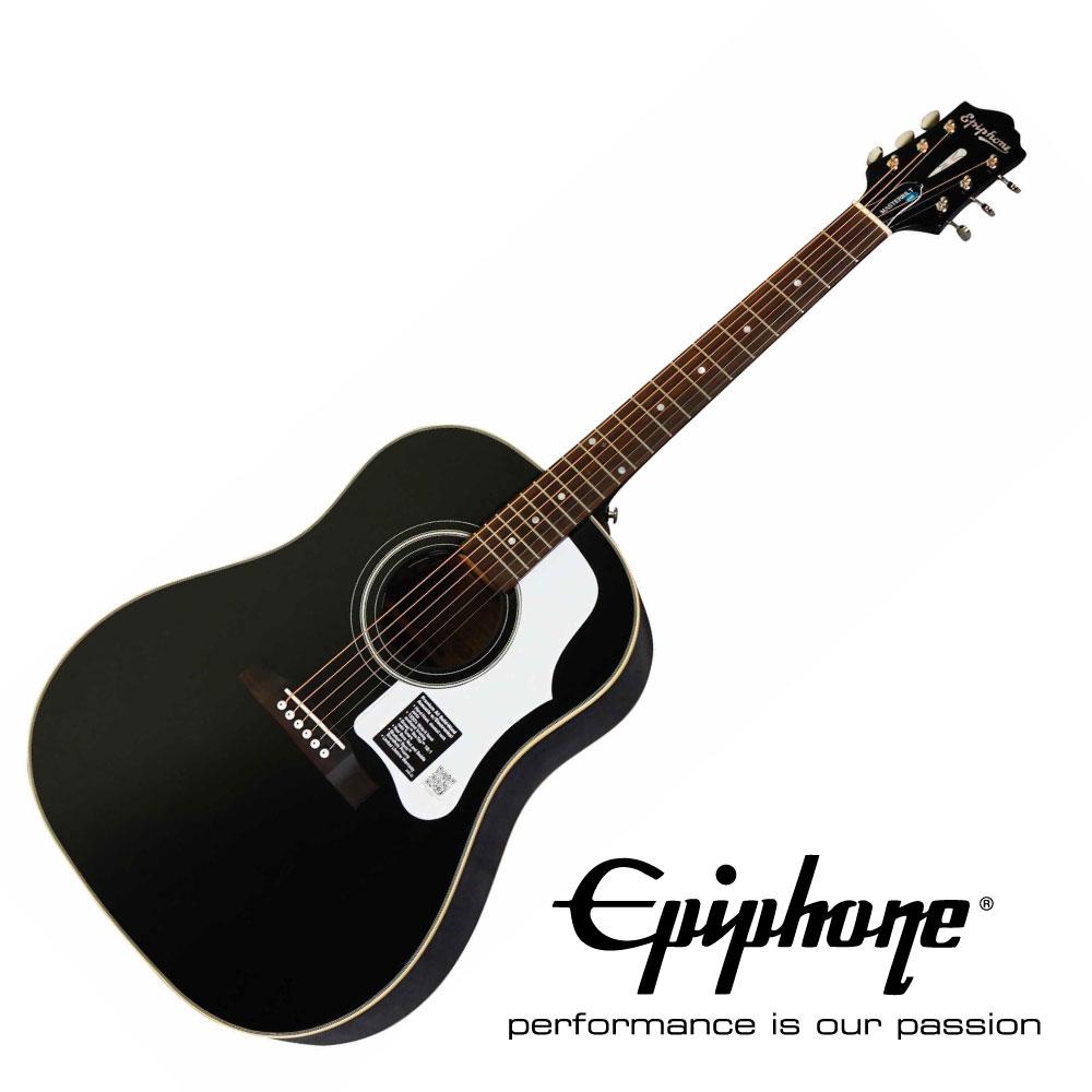 EPIPHONE Masterbilt Series AJ-45ME EBS Ebony Satin J-45スタイル オール単板仕様 アコースティックギター