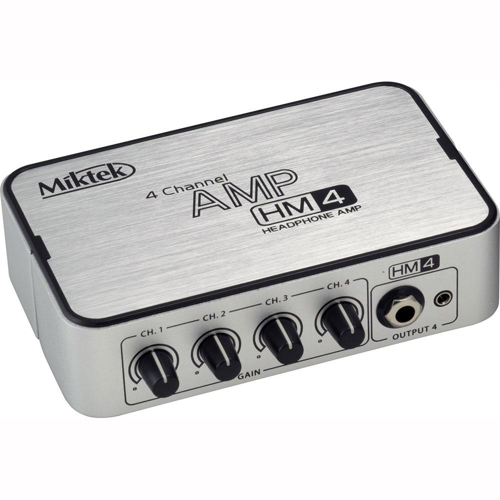 Miktek HM4 4チャンネル ヘッドホンアンプ