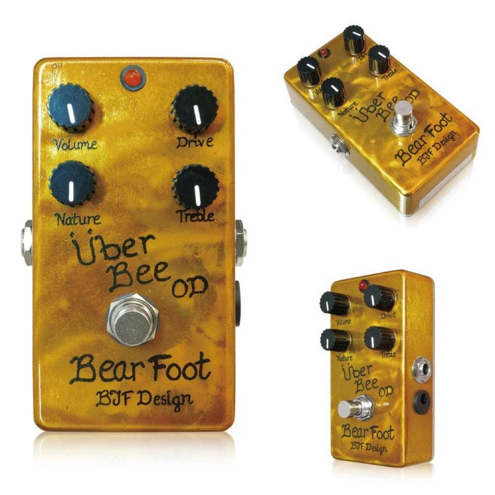 Bearfoot Guitar Effects Uber Bee OD エフェクター
