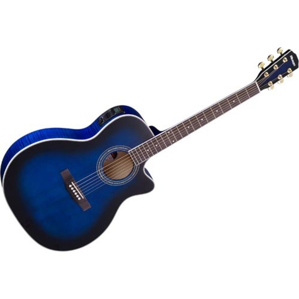 MORRIS R-601 SBUB エレクトリックアコースティックギター