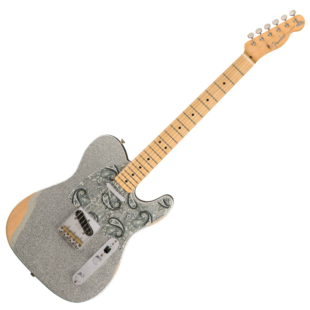 Fender Brad Paisley Road Worn Telecaster MN SLV SPKL エレキギター