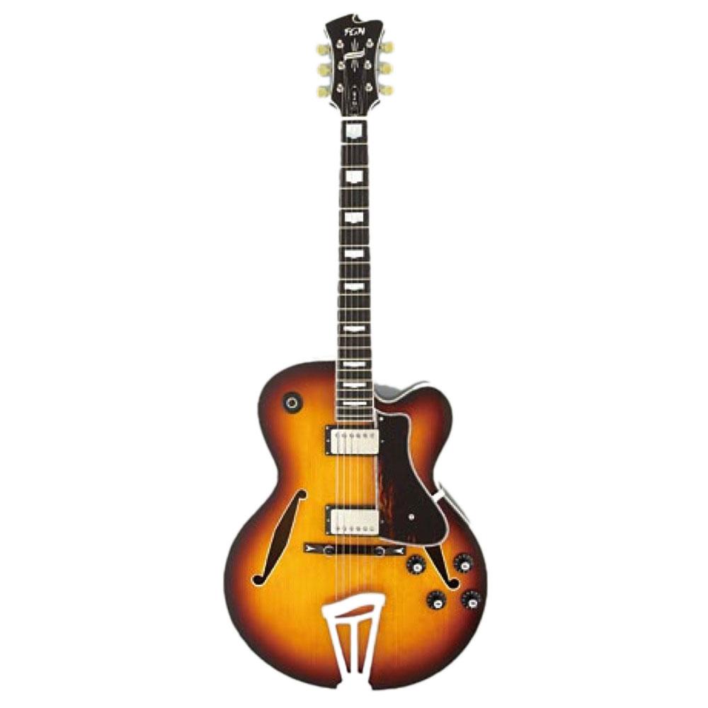 FUJIGEN Masterfield MFA-HH JB フルアコギター