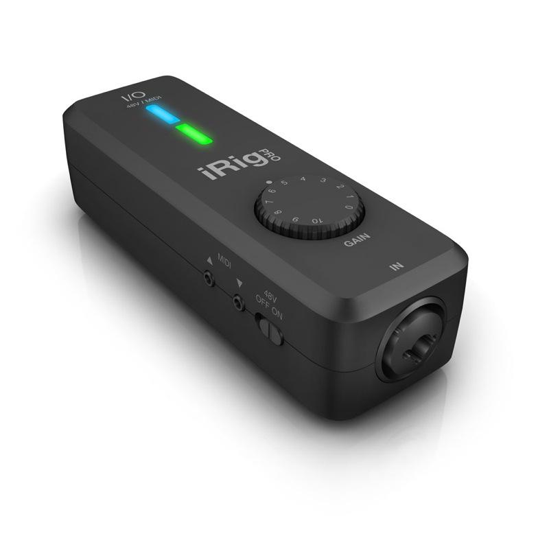 IK Multimedia iRig Pro I/O iPhone対応 オーディオ/MIDIインターフェイス