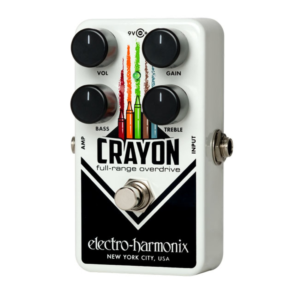 ELECTRO-HARMONIX Crayon BK Full-Range Overdrive オーバードライブ エフェクター