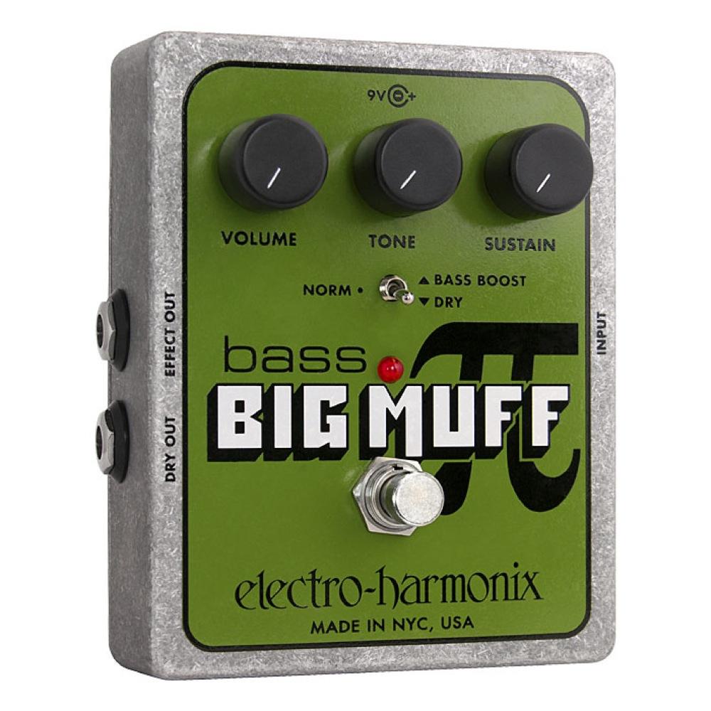 ELECTRO-HARMONIX Bass Big Muff Pi Distortion/Sustainer ベースビッグマフ ベースエフェクター