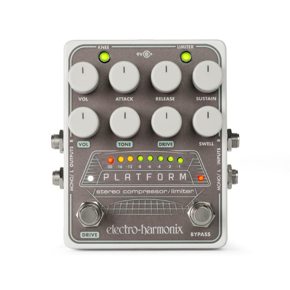 ELECTRO-HARMONIX Platform Stereo Compressor / Limiter コンプレッサー エフェクター