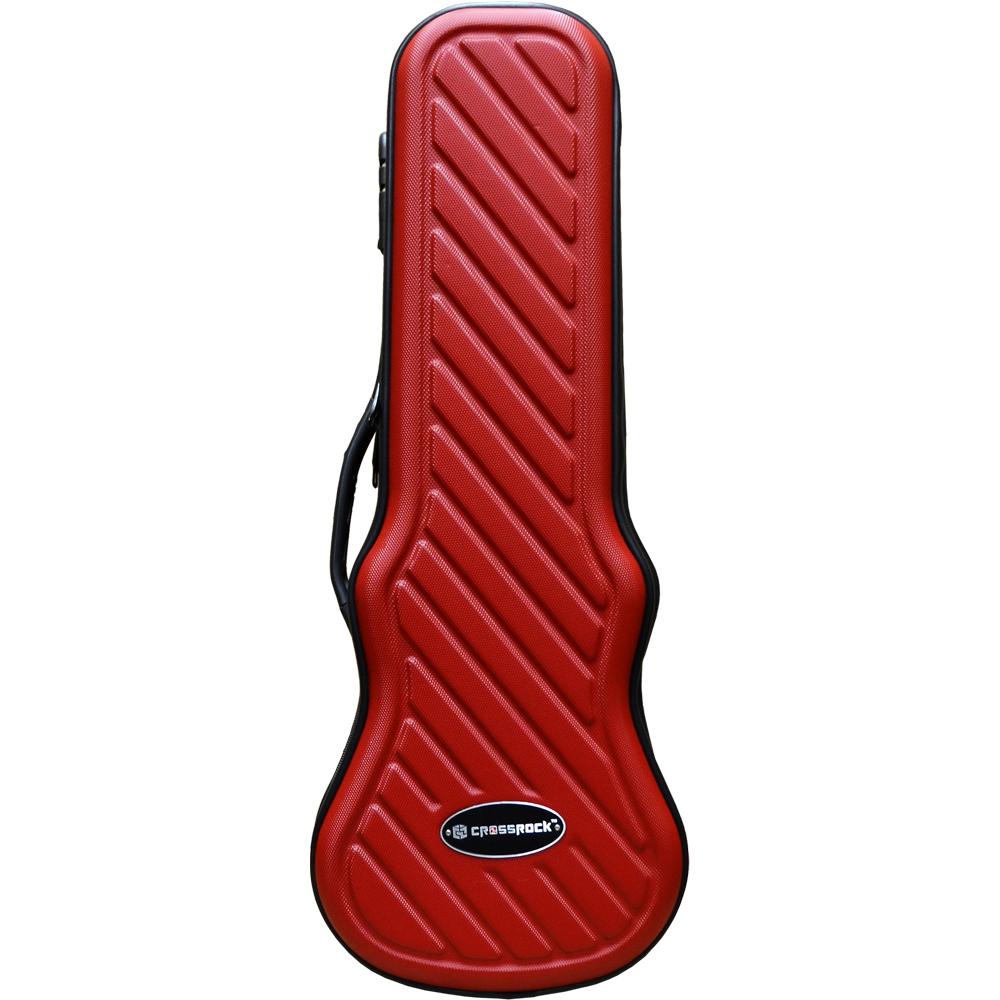 CROSSROCK CRA400SU RD Soprano Red ソプラノウクレレ用ハードケース