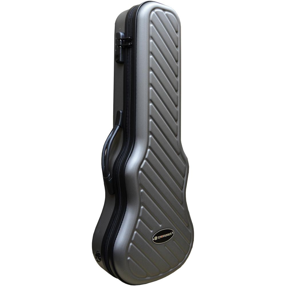 CROSSROCK CRA400TU GR Tenor Grey テナーウクレレ用ハードケース