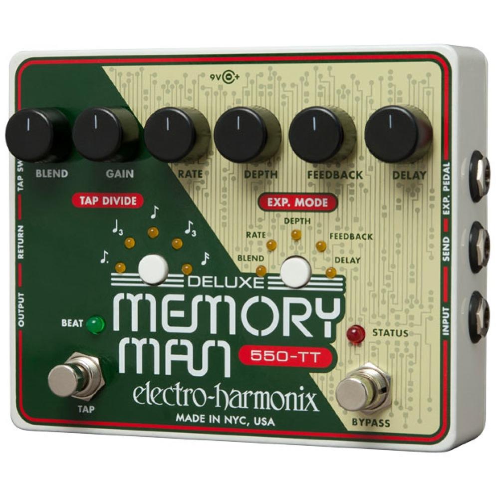 品質一番の ELECTRO-HARMONIX Deluxe Memory Memory Deluxe Man Man Tap Tempo 550 アナログディレイ, TAKANNA:53785d9c --- konecti.dominiotemporario.com