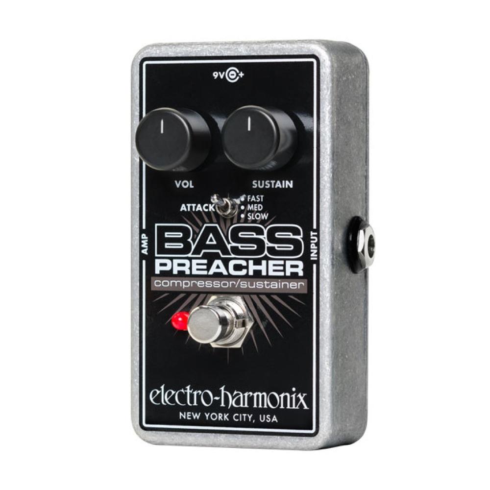 ELECTRO-HARMONIX Bass Preacher コンプレッサー サスティナー