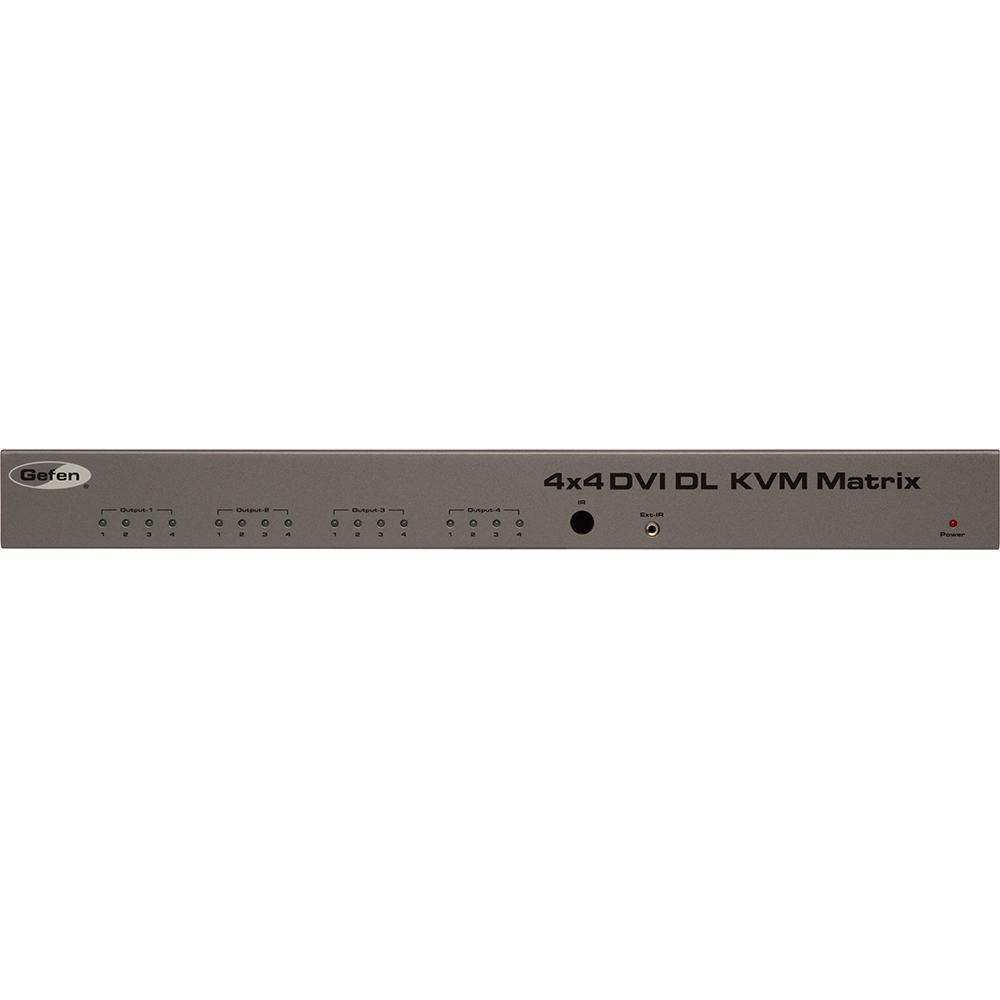 GEFEN EXT-DVIKVM-444DL DVI/KVM切替機