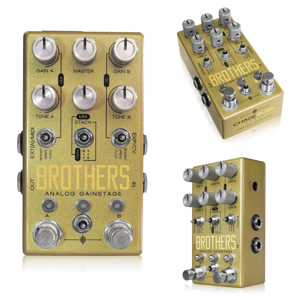 Chase Bliss Audio Brothers ギターエフェクター