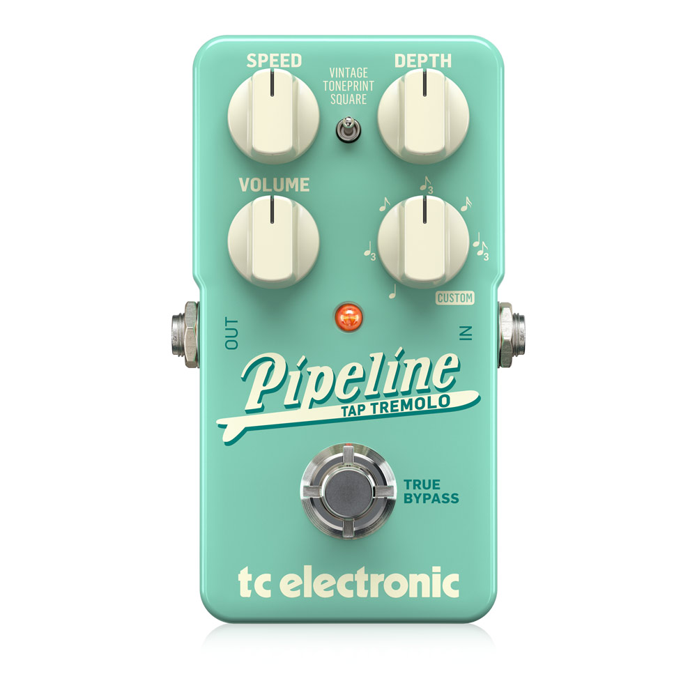 tc electronic Pipeline Tap Tremolo ギターエフェクター