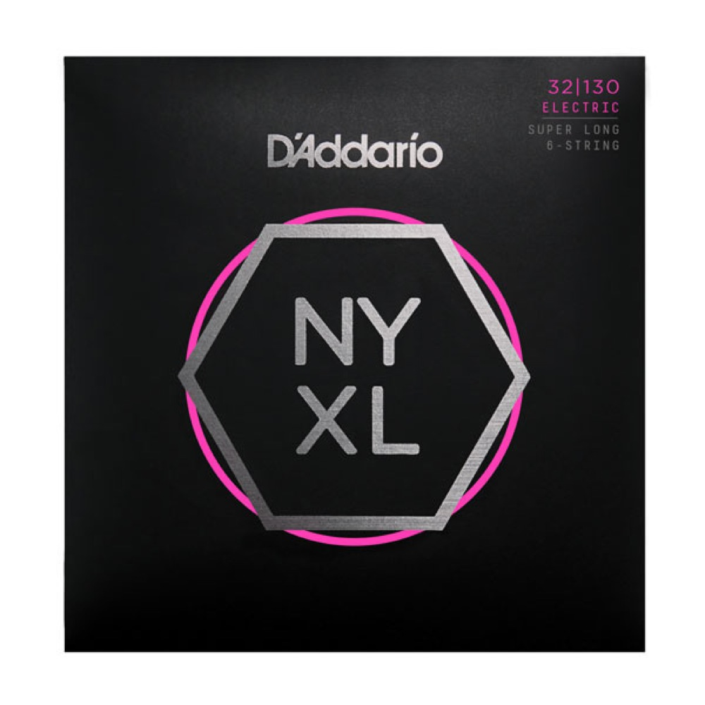 D'Addario NYXL32130SL 6弦ベース弦