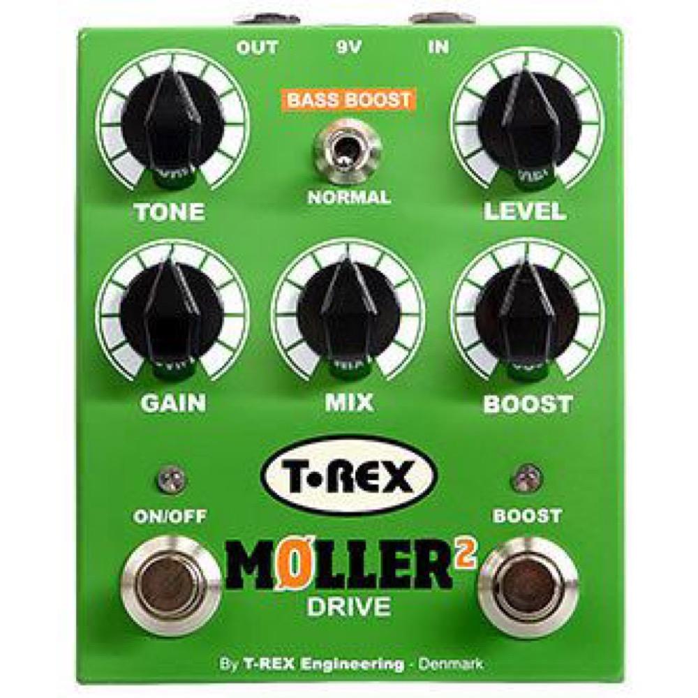 T-REX MOLLER 2 デュアルオーバードライブ エフェクター