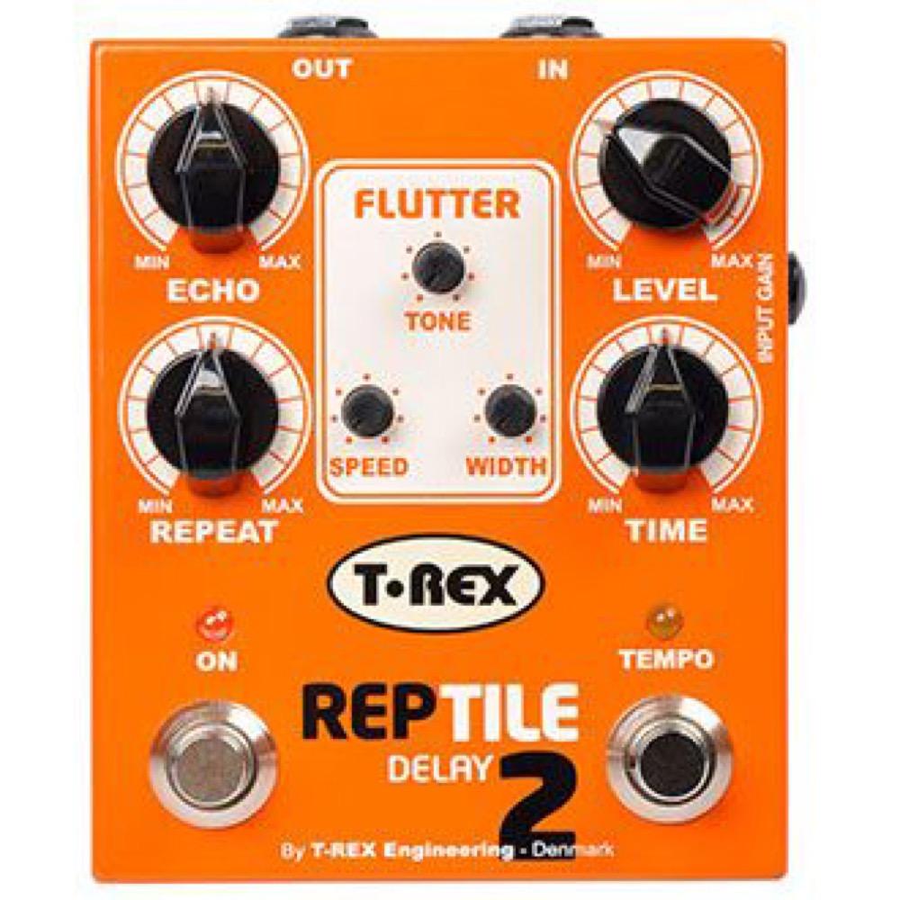 T-REX REPTILE 2 ディレイ アナログテープエコーシミュレーター