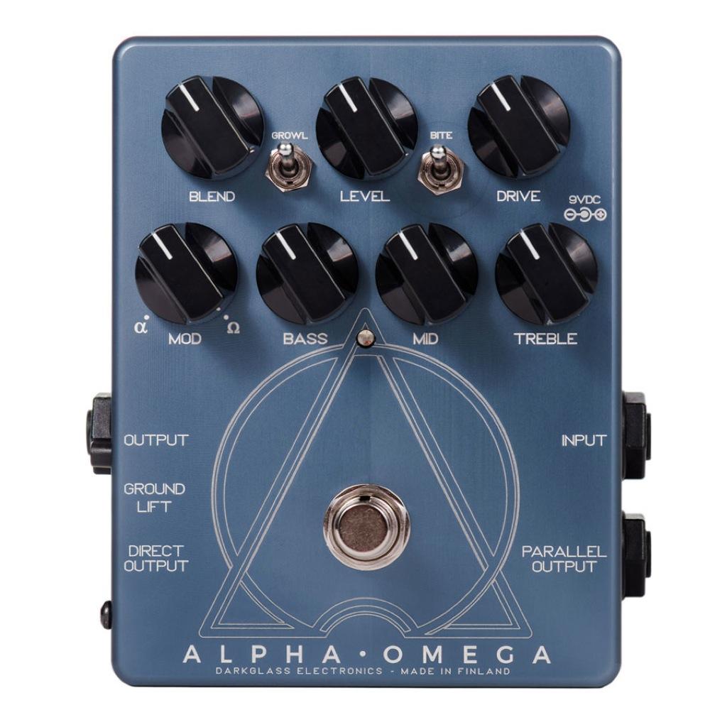 Darkglass Electronics Alpha Omega ベース用プリアンプ/DI ディストーション エフェクター