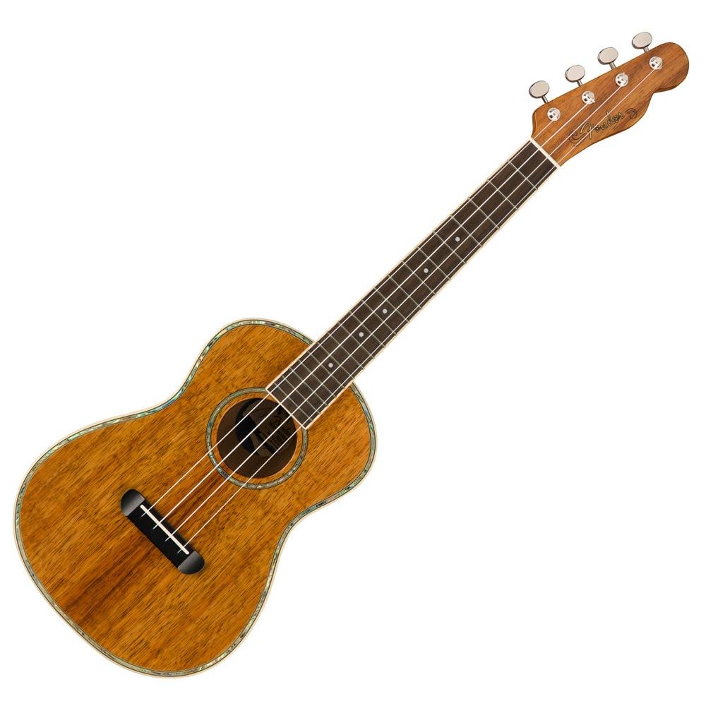 Fender Montecito Tenor Uke Natural テナーウクレレ