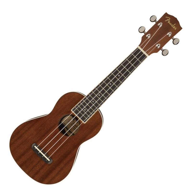 Fender Seaside Soprano Ukulele Natural ソプラノウクレレ