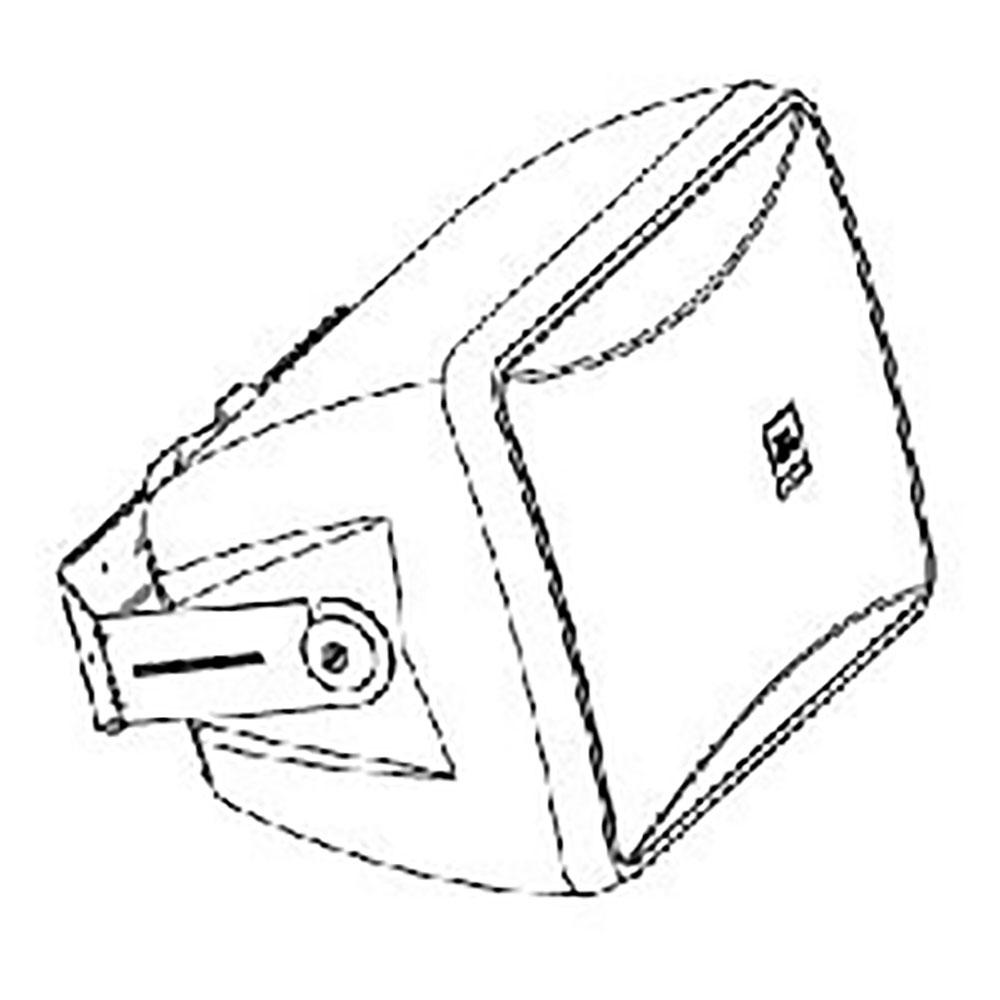 JBL PROFESSIONAL MTC-28UB-1-WH スピーカー用 U字金具 白