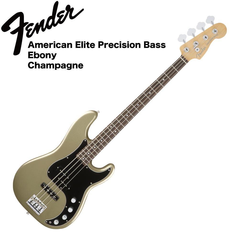 Fender American Elite Precision Bass EB CHMP エレキベース
