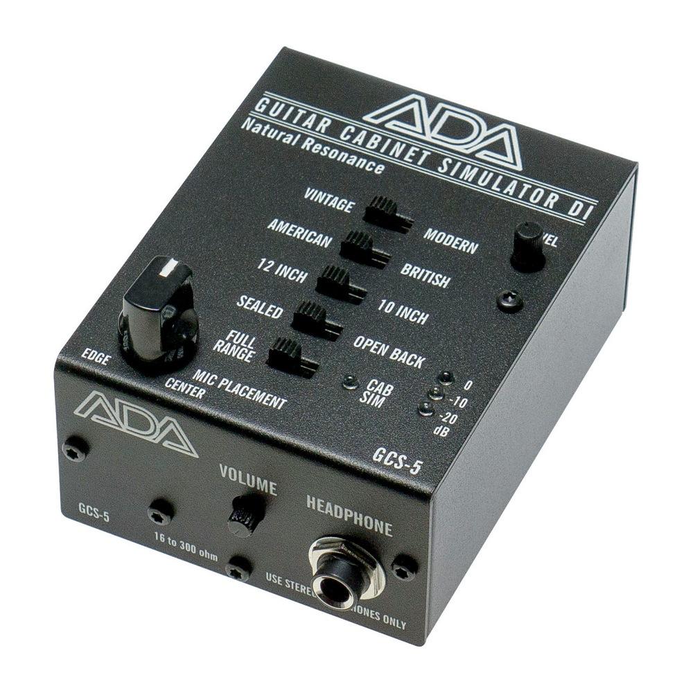 ADA GCS-5 ギターキャビネットシミュレーター DIボックス