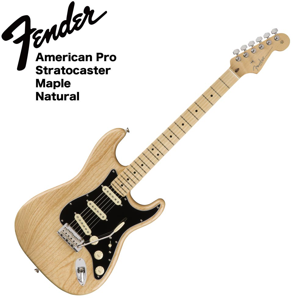 Fender American Professional Stratocaster MN NAT エレキギター