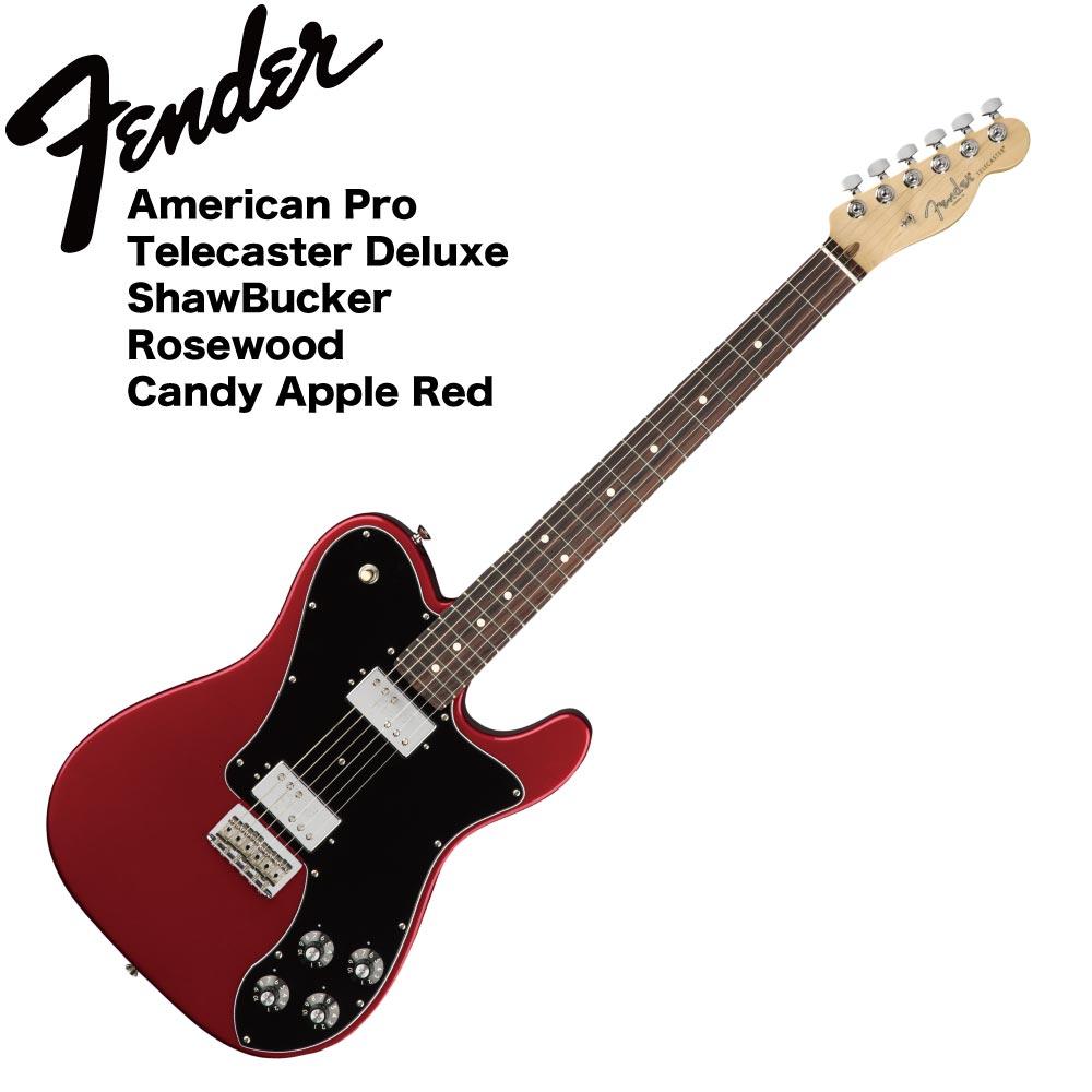 Fender American Professional Telecaster Deluxe ShawBucker RW CAR エレキギター