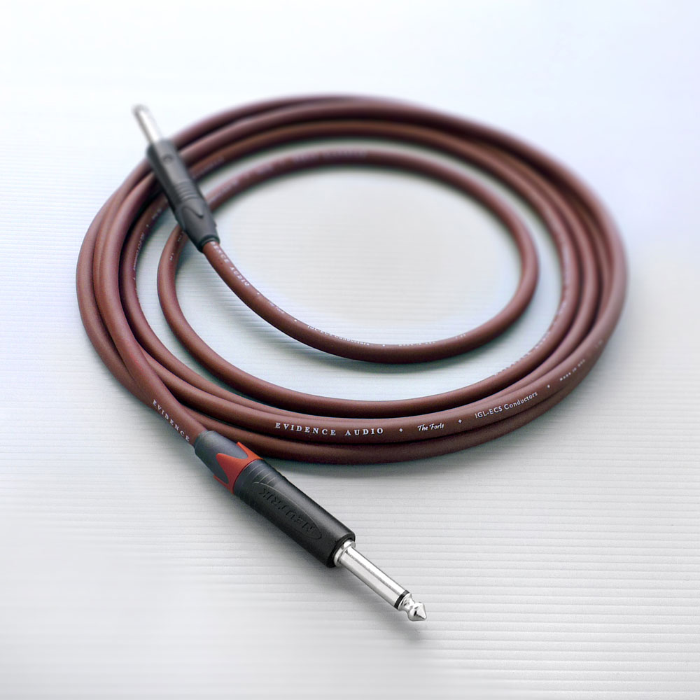 EVIDENCE AUDIO FTSS20 SS 6m Forte Instrument Cable ギターケーブル