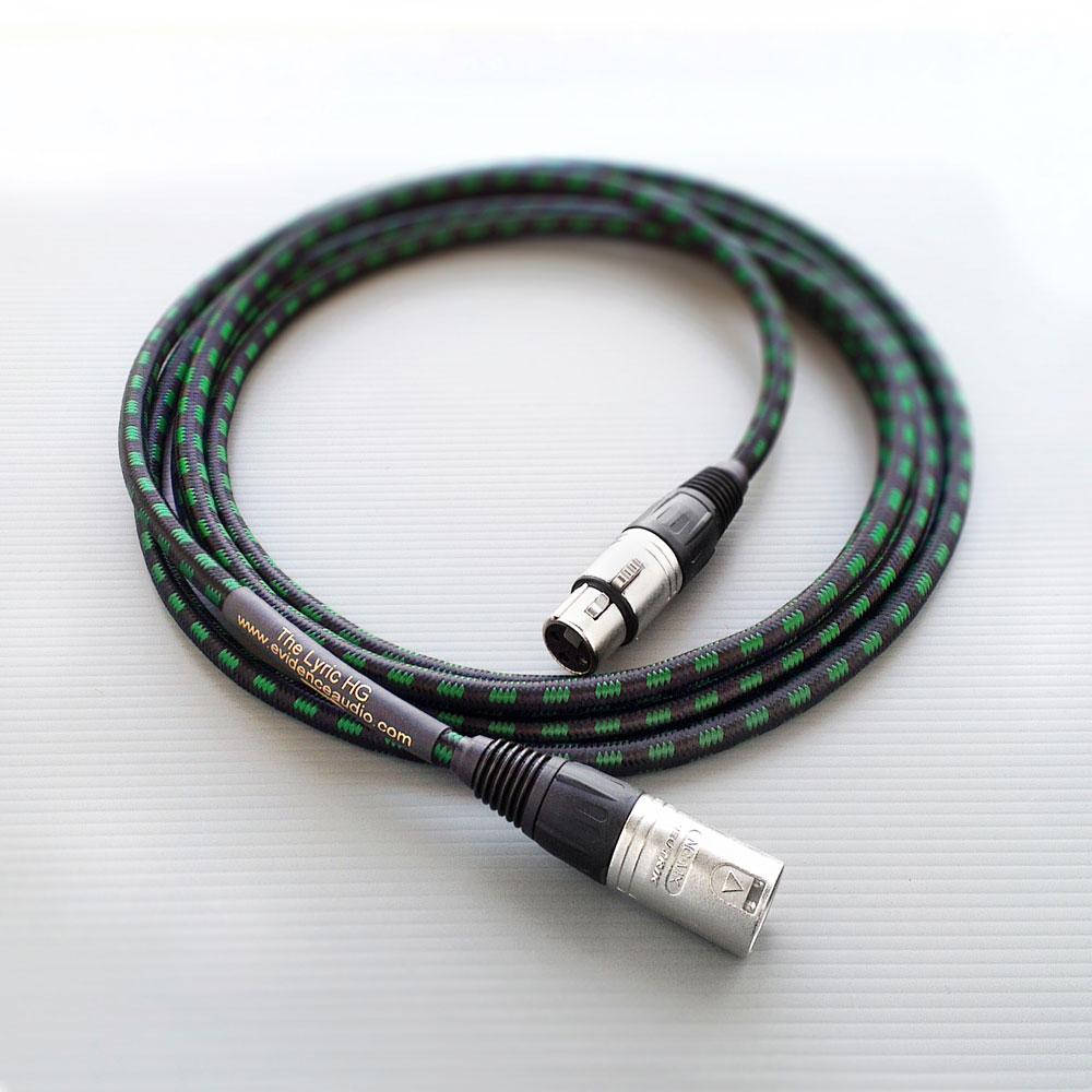 EVIDENCE AUDIO LYHGXLR10 XLR 3m Lyric HG Microphone Cable マイクケーブル