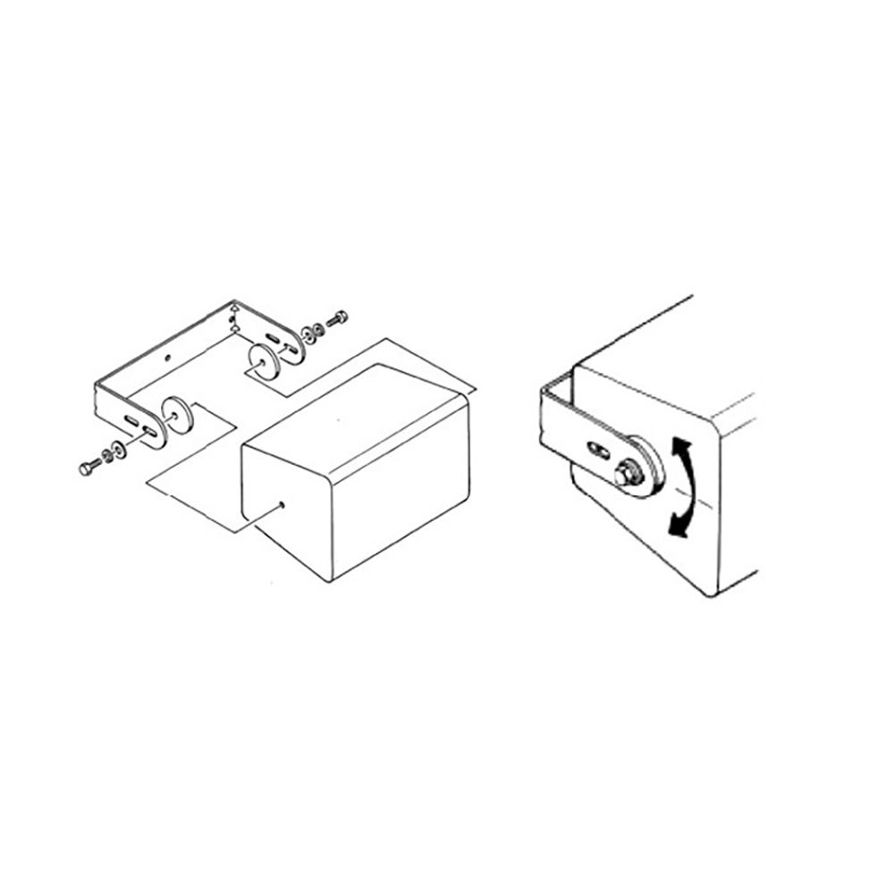 JBL PROFESSIONAL MTC-210UB-WH スピーカー用 U字金具 白