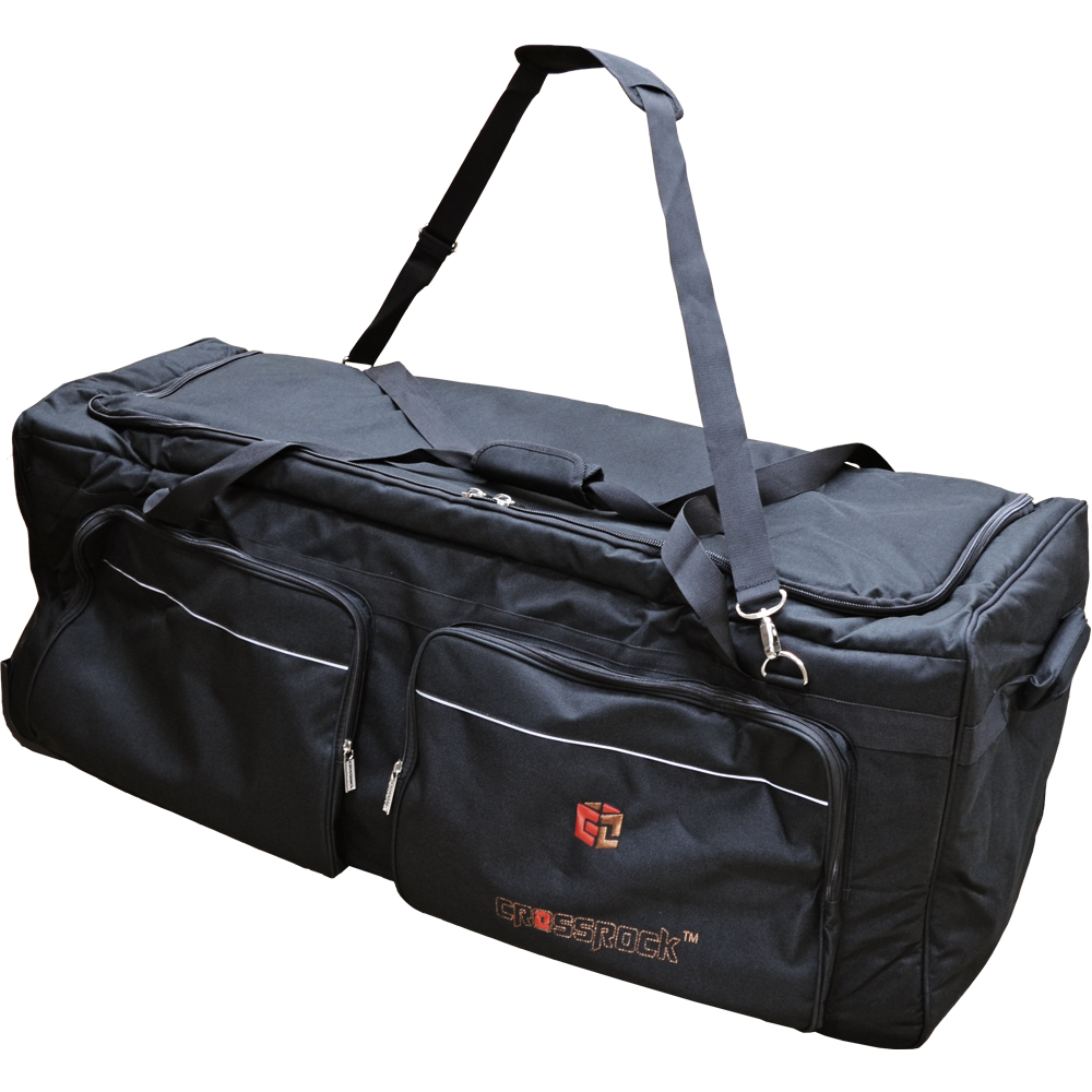 CROSSROCK CRSD900LH BK Hardware Bags with wheels Black ハードウェアバッグ