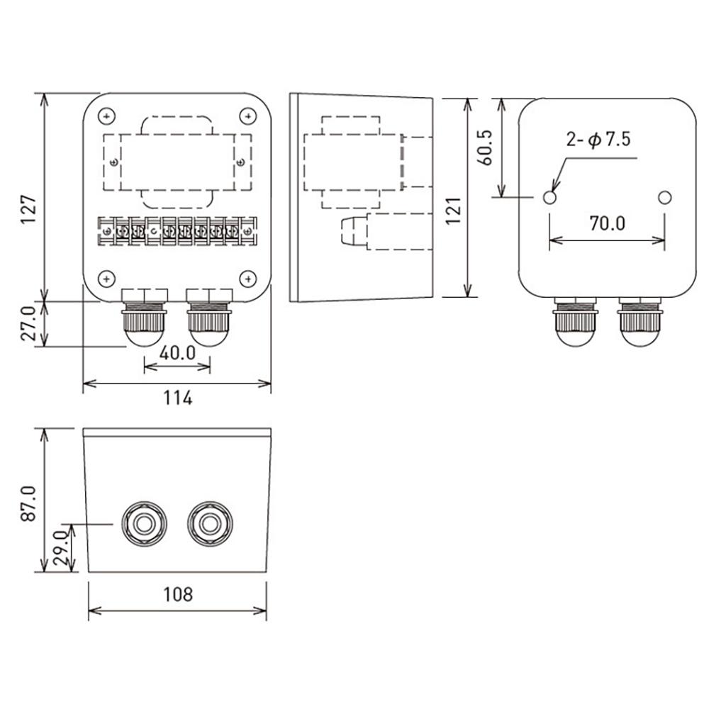 JBL PROFESSIONAL MTC-CBT-70T 入力トランス 黒