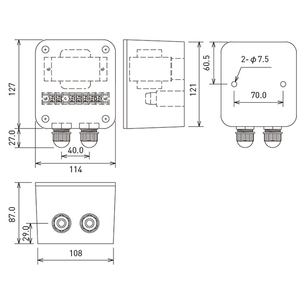 JBL PROFESSIONAL MTC-CBT-70T-WH 入力トランス 白