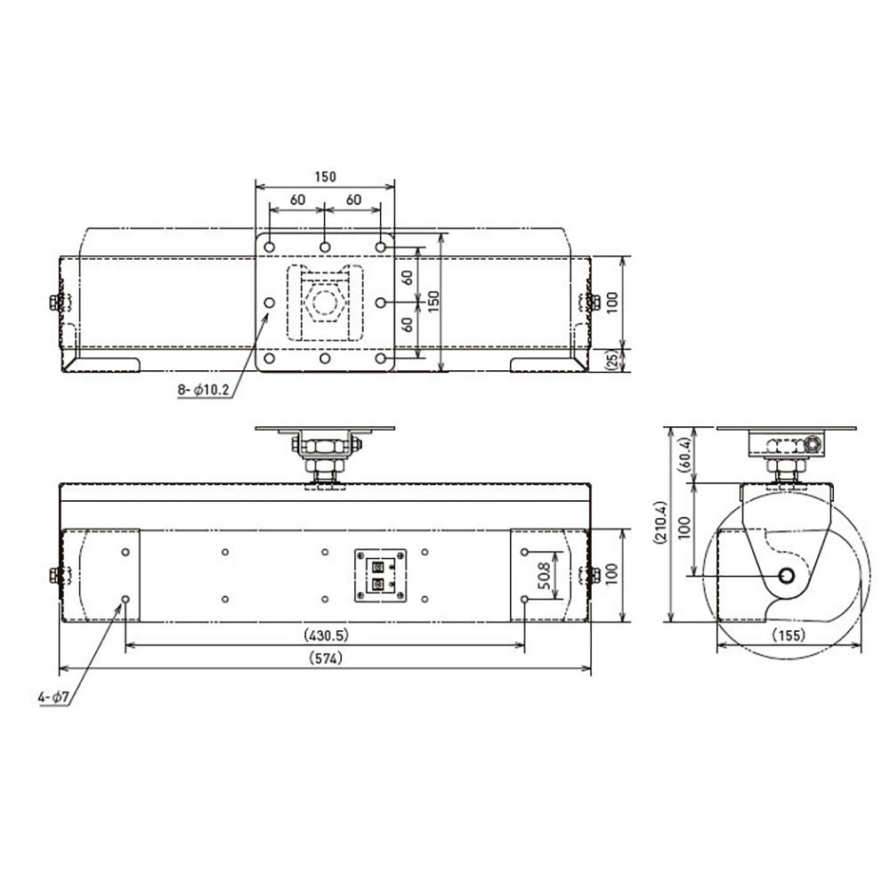 JBL PROFESSIONAL CH50 スピーカー用 天井取付金具 黒