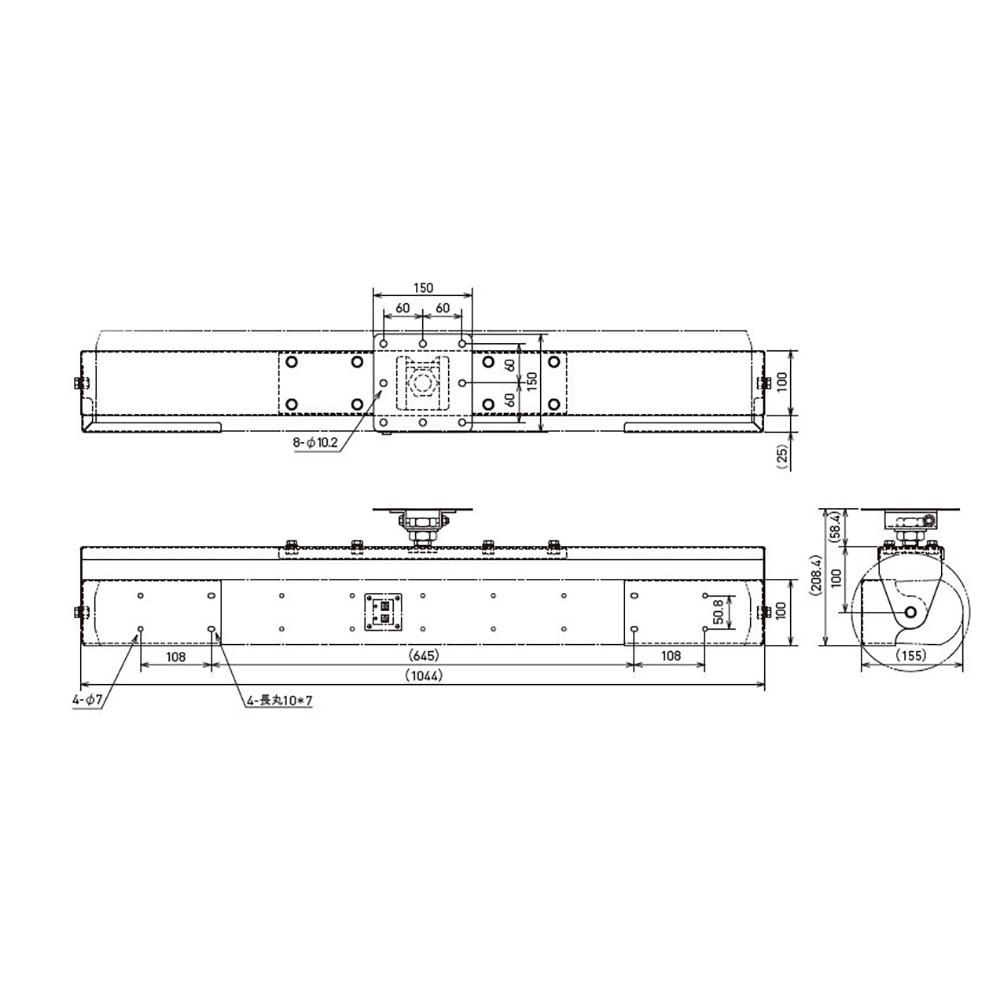JBL PROFESSIONAL CH100-WH スピーカー用 天井取付金具 白
