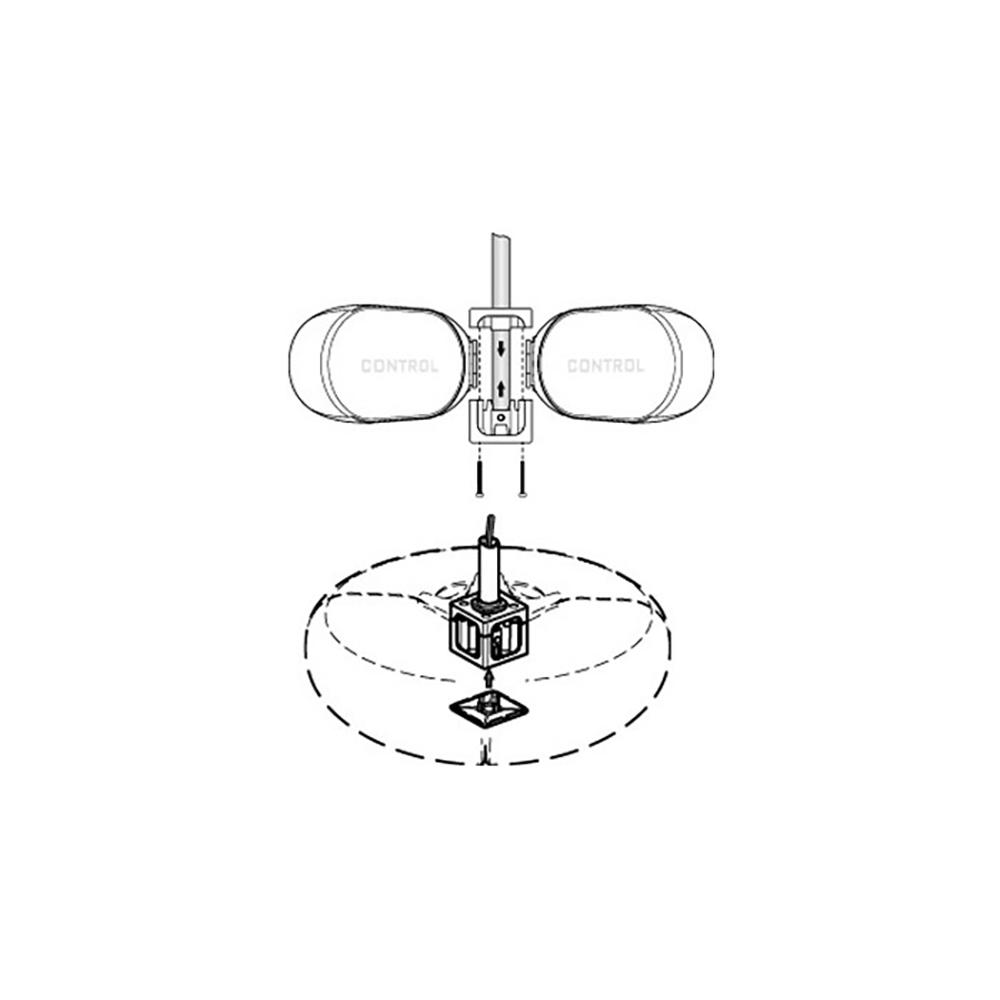 JBL PROFESSIONAL PMB-WH スピーカー用 ポールマウント金具 白
