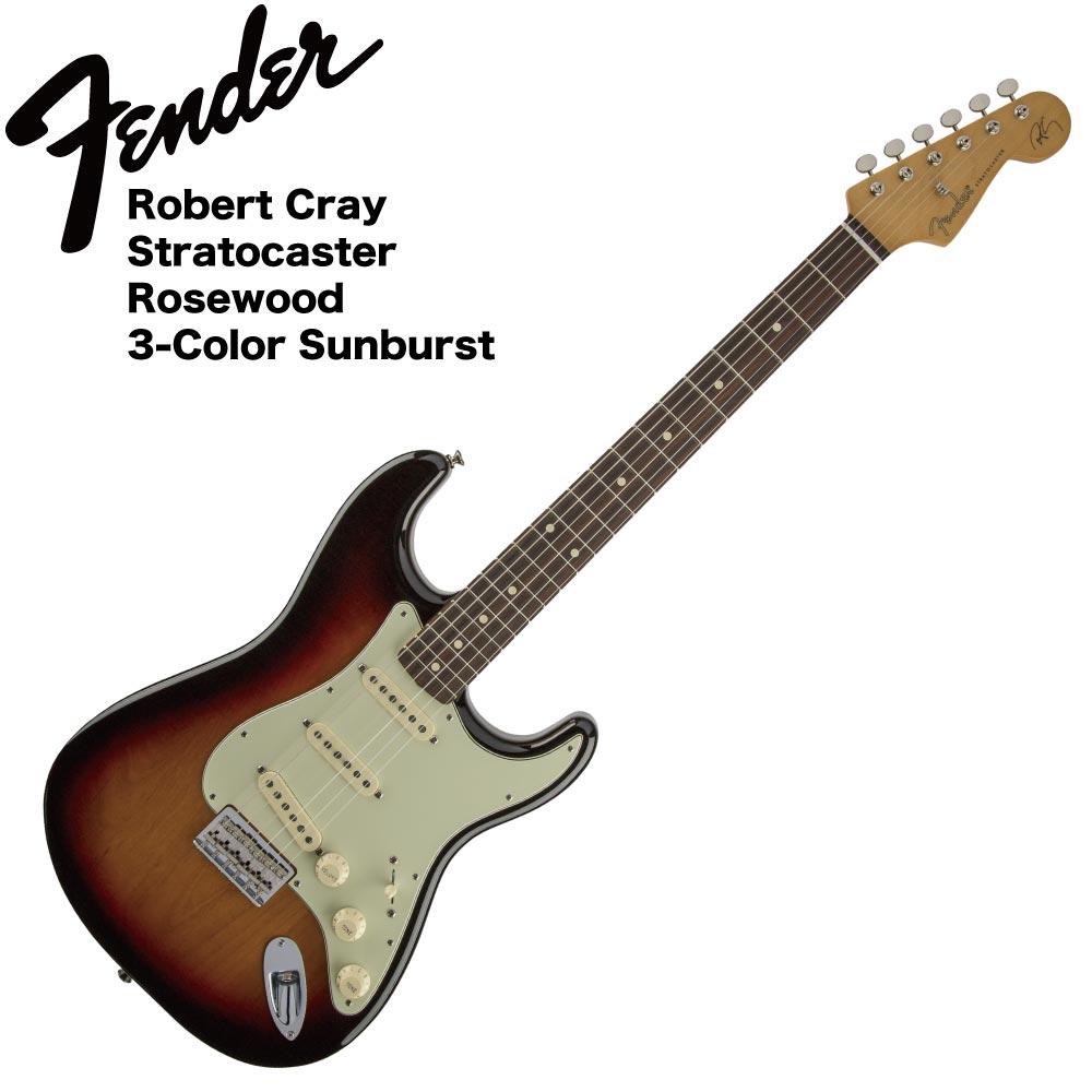 Fender Robert Cray Stratocaster RW 3TS エレキギター