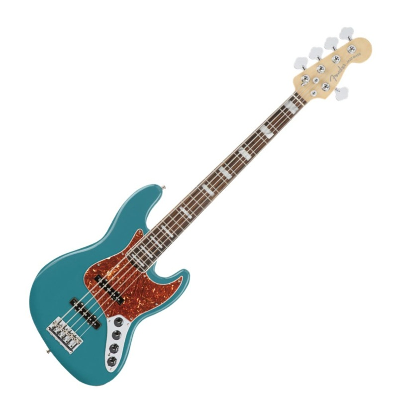 Fender American Elite Jazz Bass V EB OCT 5弦 エレキベース